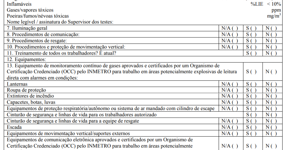 """PPRA; NR 09;PCMSO; ESOCIAL; RUIDO; LTCAT; AVCB; CREA; EMISSÃO FUGITIVA; NR 20;NR 13;NR12;VAZAMENTOS; LDAR; VASOS SOB PRESSÃO; COMPRESSORES; VAPORES; COMPOSTOS ORGÂNICOS VOLATEIS; VOCs; EPA; NR15;Method 21;NBR 10151;Dosimetria de Ruído; Vibração Ocupacional; Vibração Ambiental Cetesb; NHO 09;NHO 10;Maquinas e equipamentos; Ponte Rolante; NR 33 Espaço Confinado; Detector de 4 gases"""""""